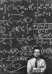 equations on a blackboard